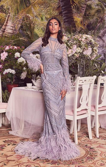 Briella Emboirdered Bridal Gown
