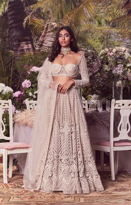 Sophia Emboirdered Bridal Lehenga Set