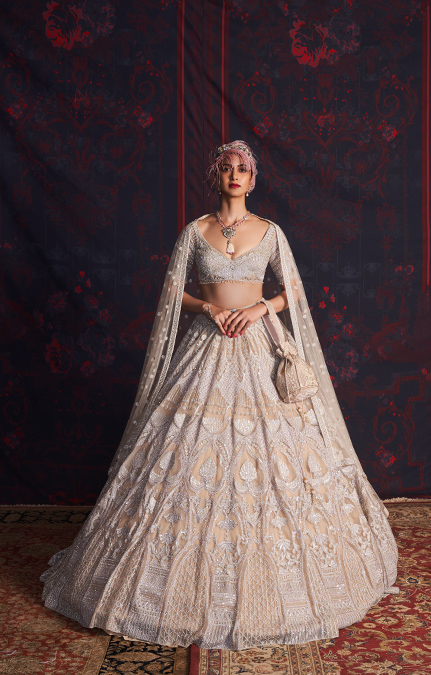 Marie Designer Embroidered Lehenga set
