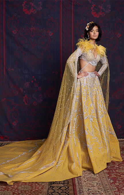 Liana Designer Embroidered Lehenga set