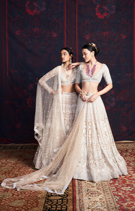 Marry Me in Jaipur Embroidered Lehenga set