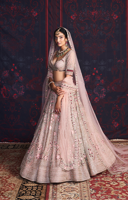 Belle Designer Embroidered Lehenga set
