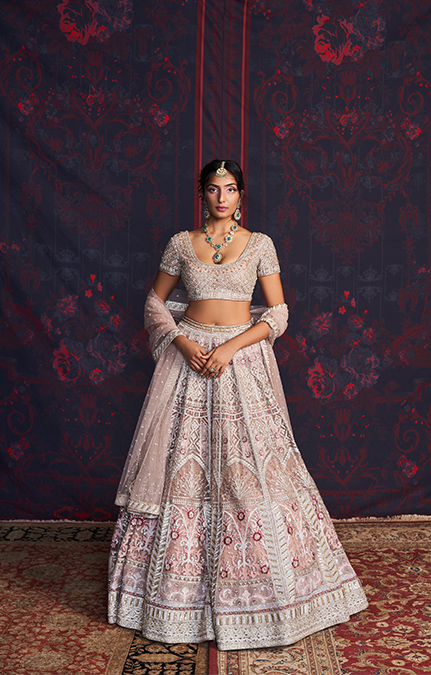 Mavis Designer Embroidered Lehenga set